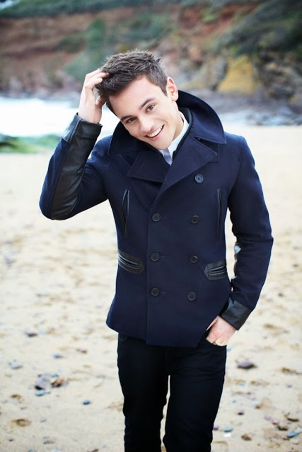 coat tom daley
