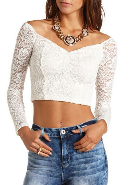 For sweet lace crop