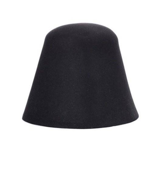 Jacquemus fur hat fur hat black
