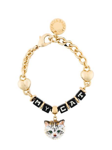 Dolce & Gabbana women grey metallic jewels