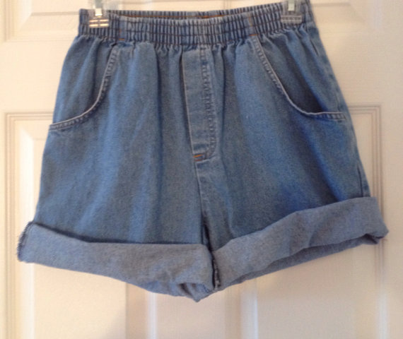 Sale Highwaisted Rolled cuffed shorts ready to ship by ShopBNicole