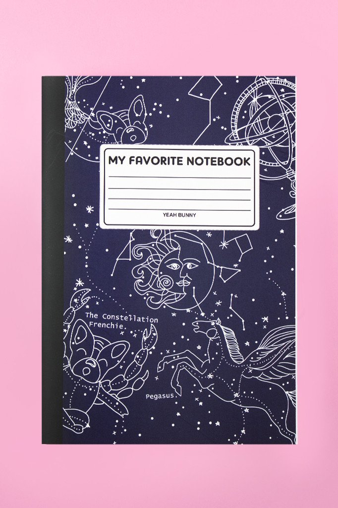 NOTEBOOK PUPPY HOROSCOPE
