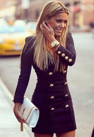 coat classy gold
