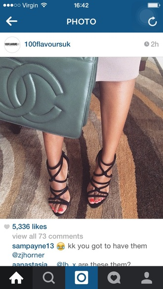 shoes black heels strappy heels lace up heel