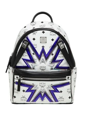 cyber backpack white bag