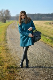perla oreneta,sweater,coat,pants,shoes,bag
