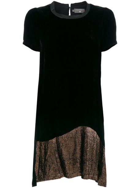 Cotélac dress women black silk