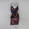 Multi sequin mini dress
