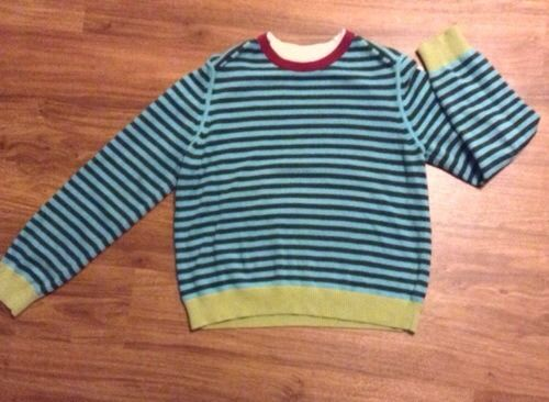 Tommy Hilfiger Striped Mock Double Collar Sweater Size XL XG Womens LQQK | eBay