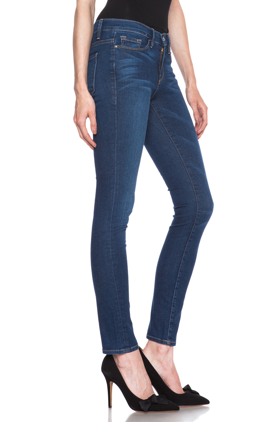 FRAME Denim | Le Skinny de Jeanne Jean in Columbia Road