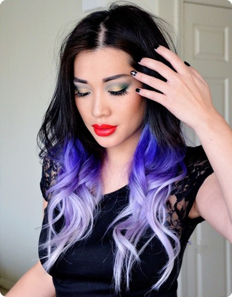 hair accessory ombre