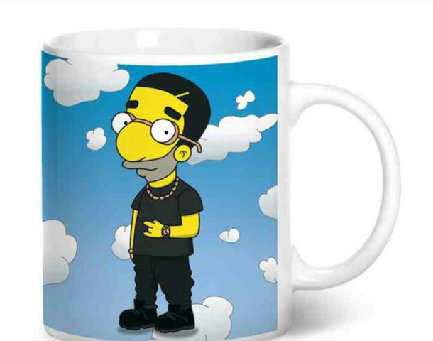mug the simpsons home accessory