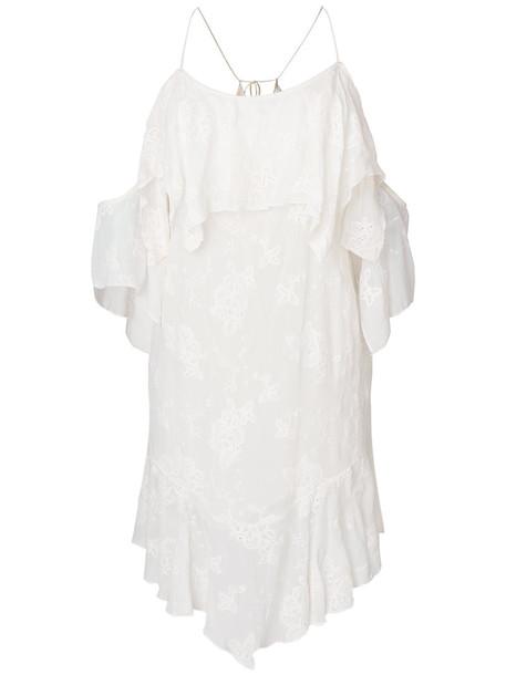 Iro dress women cold floral white