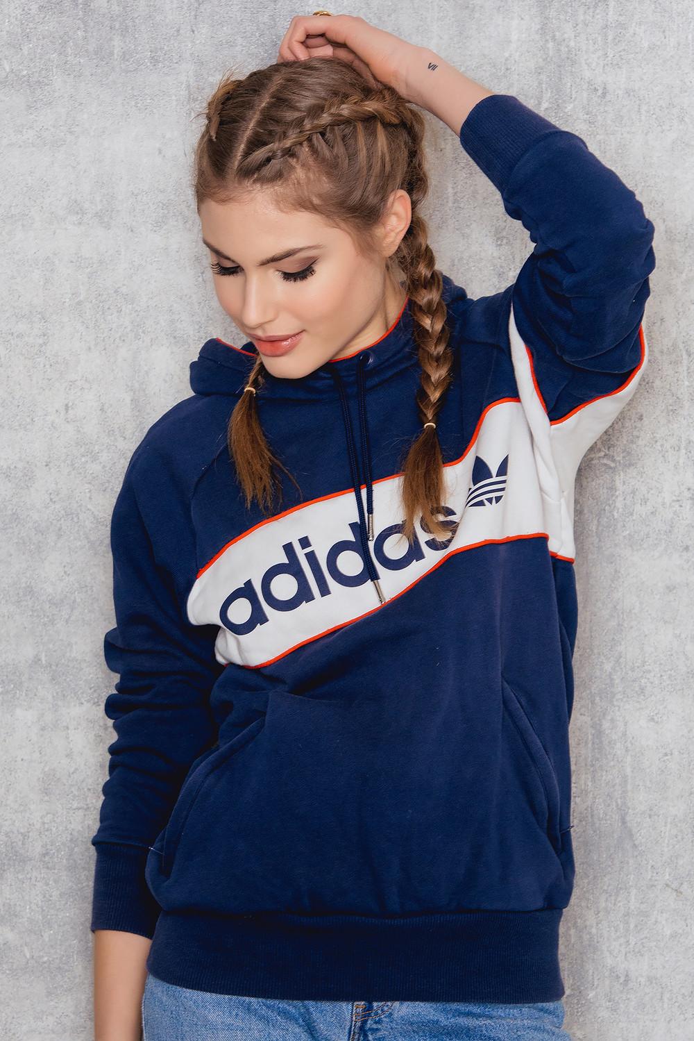 NA-KD Vintage Adidas Vintage Sweatshirt