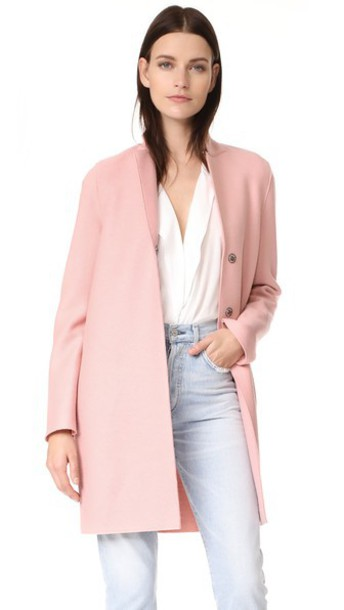HARRIS WHARF LONDON coat pastel pink pastel pink