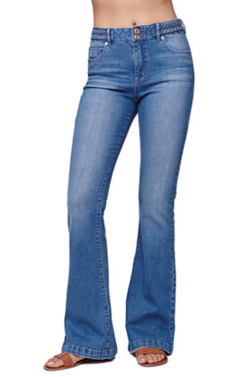 Kendall and Kylie High Waisted Braid Jeans at PacSun.com