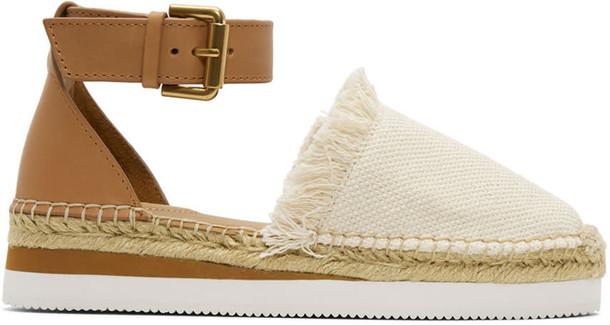 See by Chloe espadrilles beige shoes