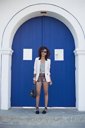 style me grasie,jacket,top,shorts,shoes,bag,jewels