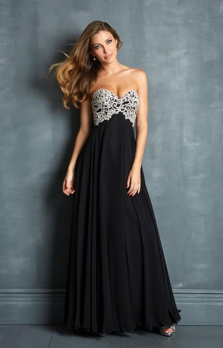 Black Long Prom Dress - Ocodea.com