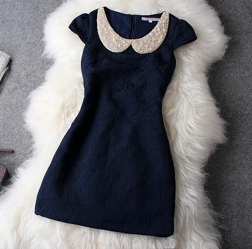 Elegant shining embroidered nice dress