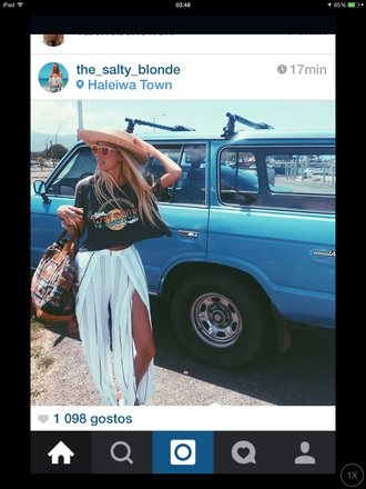 top hawaii wildfox creative tops hippie boho bohemian surf surf vibes car rainbown surf girl rainbow shirt pants
