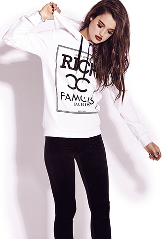 Rich and Famous Hoodie | FOREVER21 - 2000111473