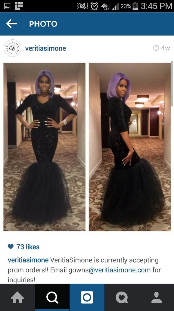 dress mermaid prom dress