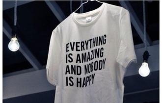 shirt nice t-shirt mens shirt black t-shirt white t-shirt quote on it