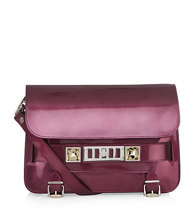 Proenza Schouler PS11 Mirrored Classic Shoulder Bag | Harrods