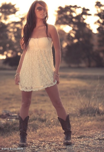 Country White Lace Dress White Lace Dress Country