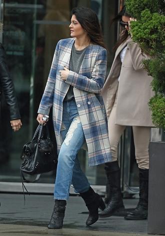 jeans coat kylie jenner