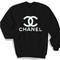 Chanel logo sweater | doze palace