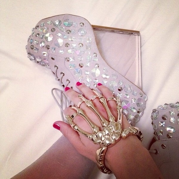jewels shoes