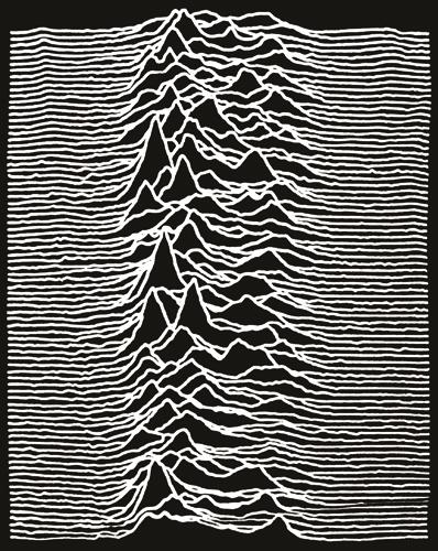 T-Shirt Mec JOY DIVISION - Unknown Pleasure - T-Shirts - Rock A Gogo