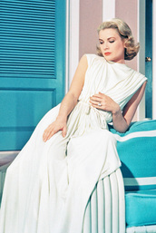 jumpsuit,grace kelly,white jumpsuit,actress,all white everything,hairstyles,retro