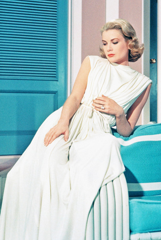 jumpsuit grace kelly white jumpsuit actress all white everything hairstyles retro