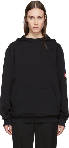 Acne Studios hoodie black sweater