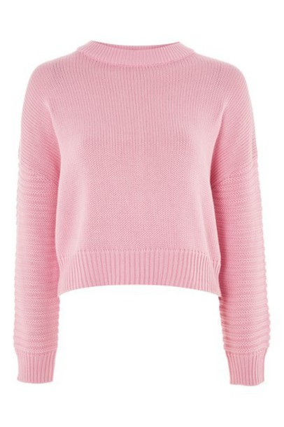 Topshop sweater pink