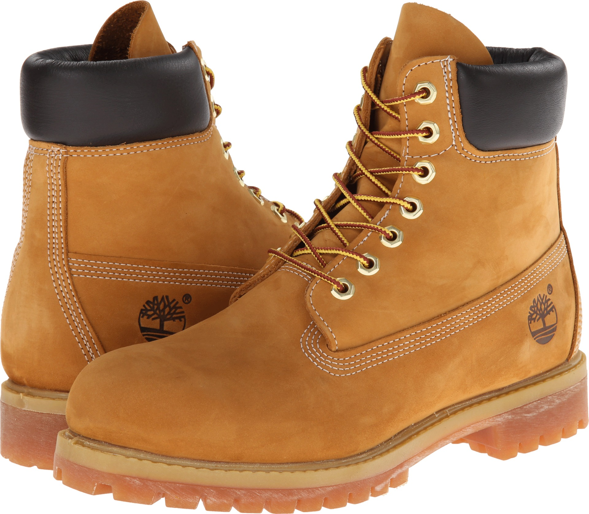 "Timberland classic 6"" premium boot wheat nubuck leather"