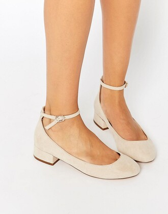 shoes heels low heels ankle strap heels