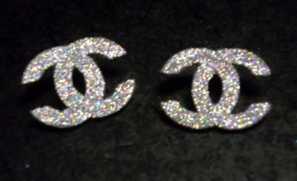 jewels studs chanel diamond