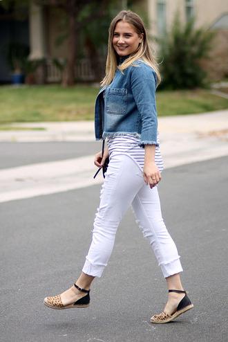 lauren conrad blogger jacket t-shirt shoes bag