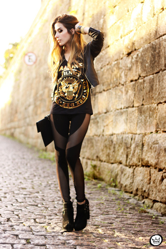 fashion coolture t-shirt pants jacket jewels shoes