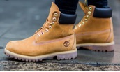 shoes,timberland,work boots,tan,lovely,sturdy