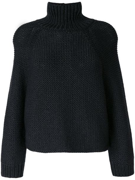Fabiana Filippi jumper turtleneck women grey sweater