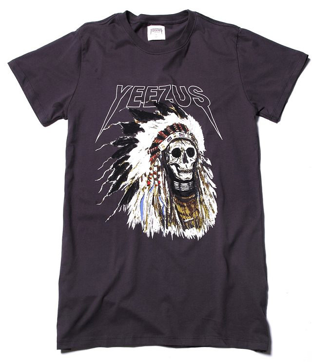 Best Version! 2014 brand shirt skull yeezus t shirts usa Clothing cotton t shirts fashionable short sleeve Oversize Kanye-in T-Shirts from Apparel & Accessories on Aliexpress.com | Alibaba Group