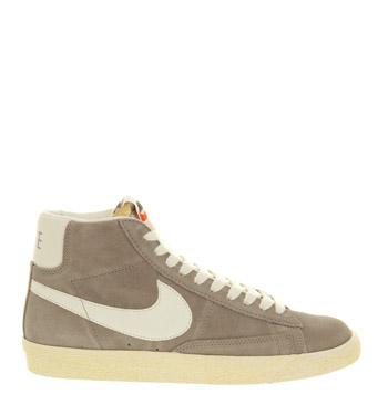 newest 4a090 27adb Nike Blazer Hi Suede Vintage Med Greysail - Unisex Sports