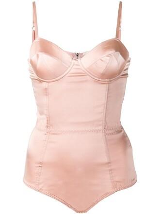 body satin purple pink underwear