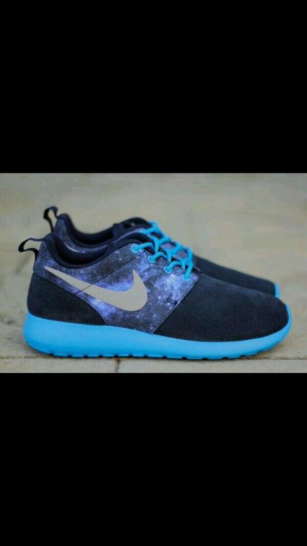 dksvyj Nike Roshe Run GS - Obsidian Blue Galaxy 599728-402 | Buy Online