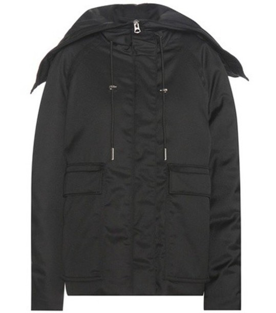 Acne Studios Asa Tech Down Jacket in black